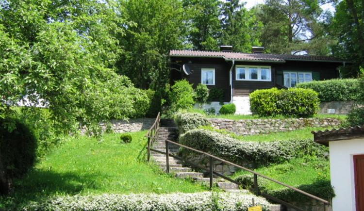 Ferienhaus Rosalinde - Aufgang zum Haus