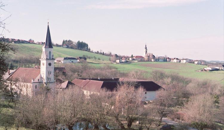 Scharten Ortsaufnahme. (© TTG Tourismus Technologie)