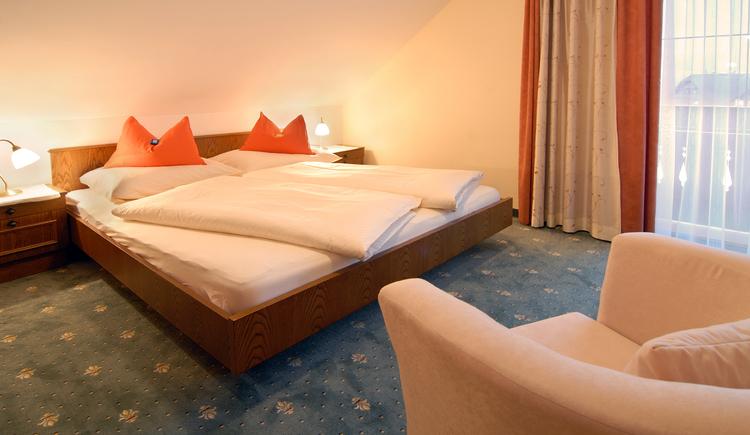 Kloibergütl, Ferienwohnung Schlafzimmer. (© Sams)