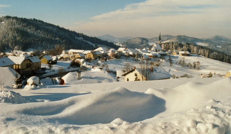 Winter in St. Georgen am Walde (© Mühlviertler Alm)