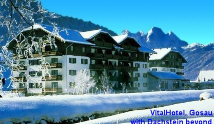 The building is warm and comfortable inside, with views to the Dachstein