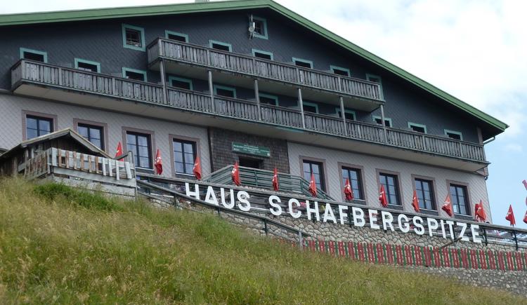 Bergrestaurant Schafbergspitze. (© WTG)