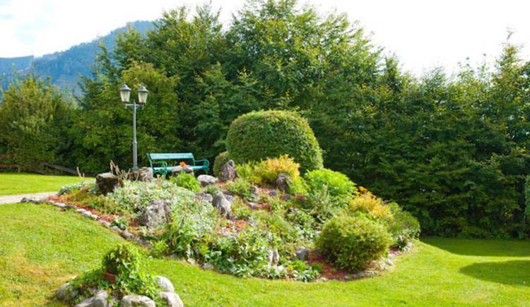 Garten (© Hotel Alte Post Faistenau)