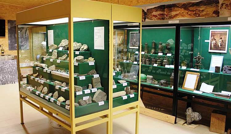 Ausstellung zum Thema Bergbau im Themanpark Kaolinum in Allerheiligen im Mühlkreis.