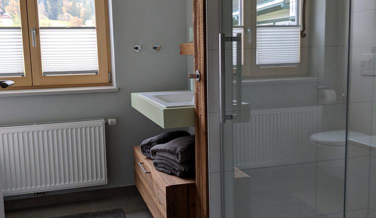 Wohnung Bergglück - Bad 2 (© dasGams)
