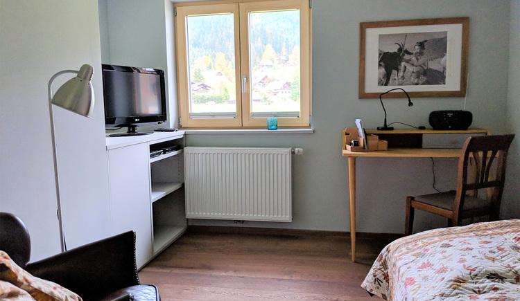 Wohnung Bergglück - Schlafen 3 (© dasGams)