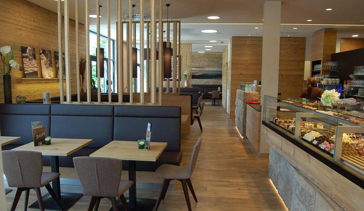 Bäckerei Konditorei Bauer, Innenbereich.