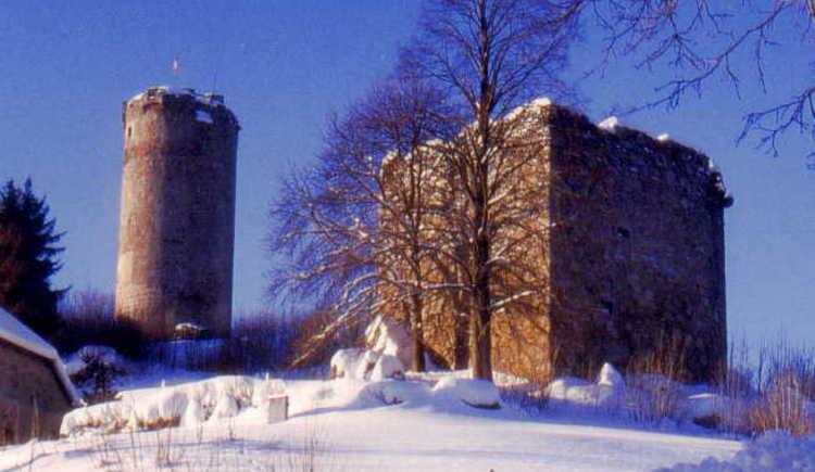 Waxenberg im Winter