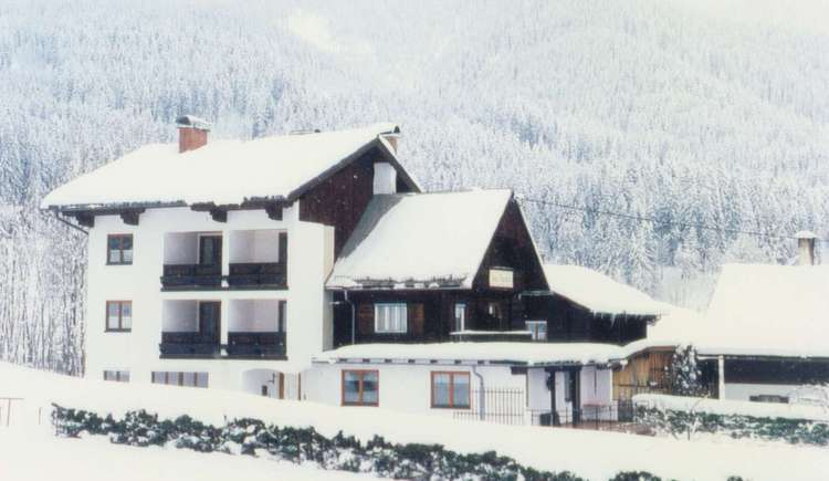 Our holiday home in winter.