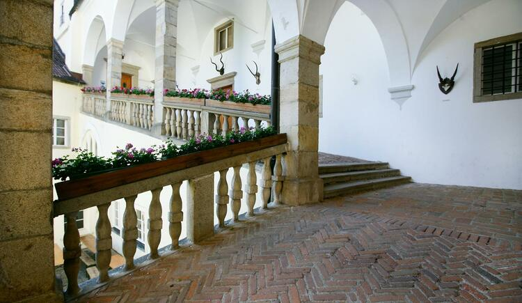 Ansicht innen (© Gästehaus Schloss Riedegg)