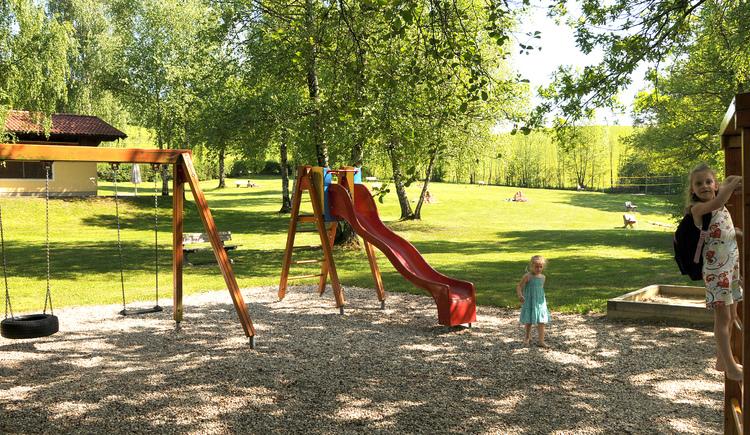 Kinderspielplatz Strandbad Lochen am See. (© Gemeinde Lochen)
