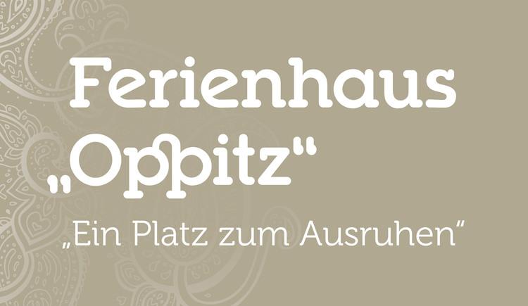 Logo Ferienhaus Oppitz . Bad Goisern am Hallstättersee