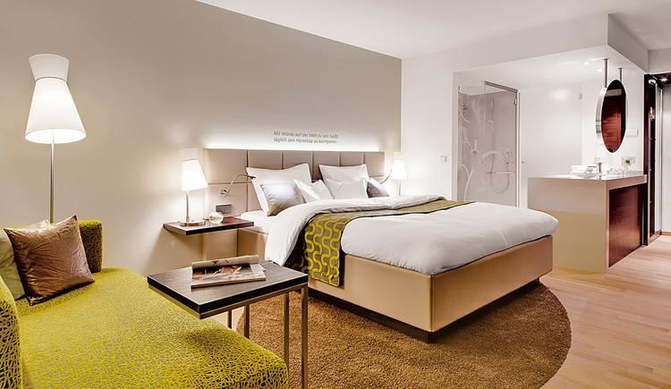Modern, ausgestattetes Doppelzimmer im Hotel Kremstalerhof