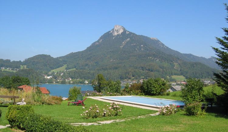 Liegewiese, Pool (© Hohenau, Fam. Brandstätter)
