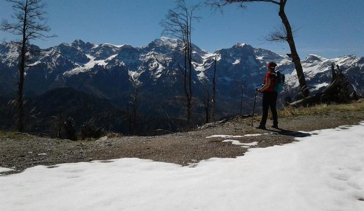 Blick unterhalb der Steyrerhütte auf den Gr. Pril (© TVB Traunsee-Almtal)