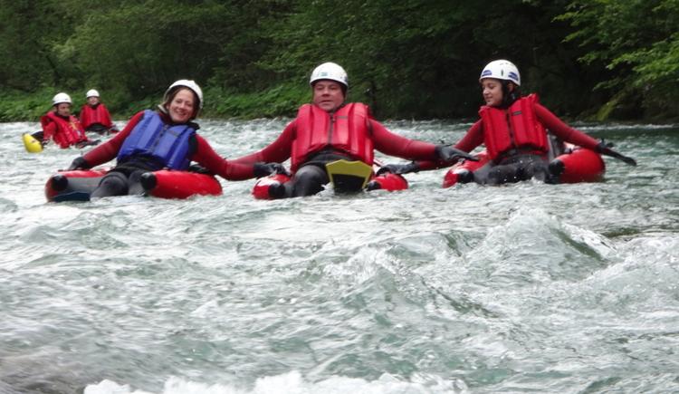 Naturesports, geführte Riverbugtouren auf der oberen Steyr