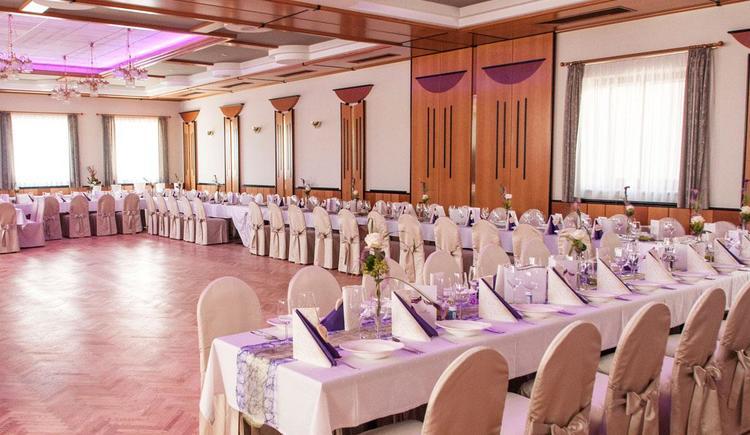 Speise- und Veranstaltungssaal Hotel Blumauer