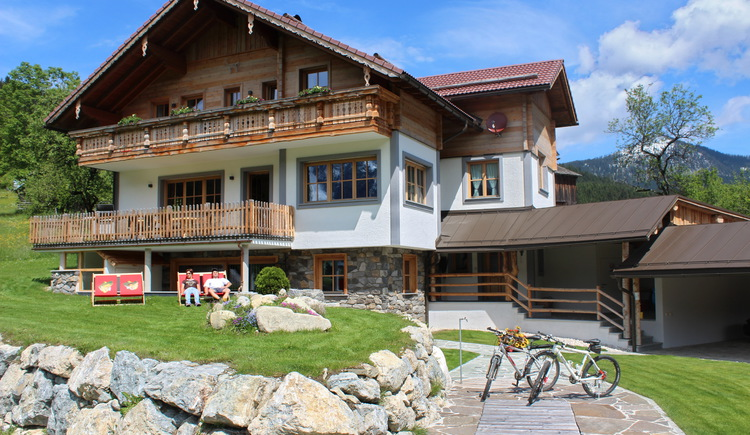 Here can you see the beautiful rural Alpen Chalet on the outside