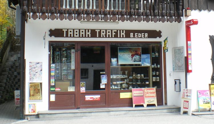 Tabakwaren, Schreibwaren, Zeitschriften