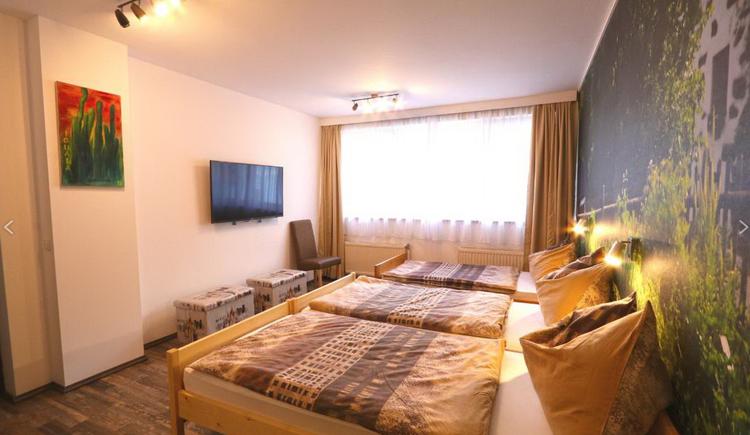 Schlafzimmer im Appartment