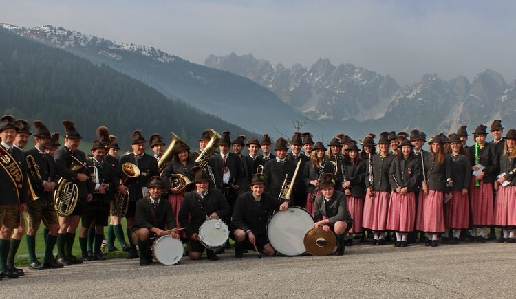group picture of the TMK Gosau