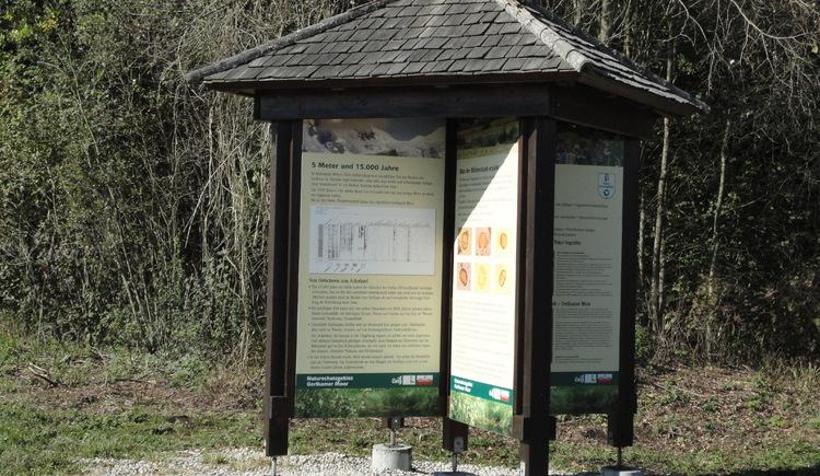 Infotafeln (© Ferienregion Attersee-Salzkammergut)
