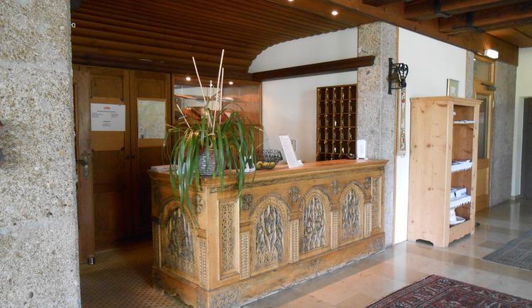 Hotel Seewirt, Reception.