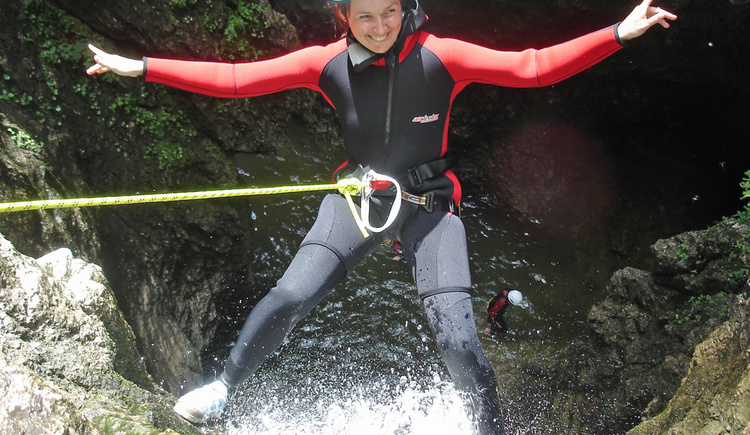 Canyoning - Schluchting (© NATURE SPORTS)