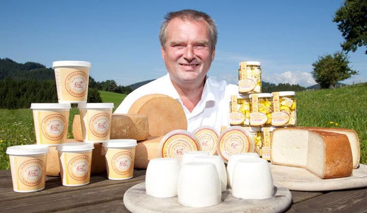 tolle Produkte von der Mühlviertler Bio-Schafkäserei (© Fam. Ortner)