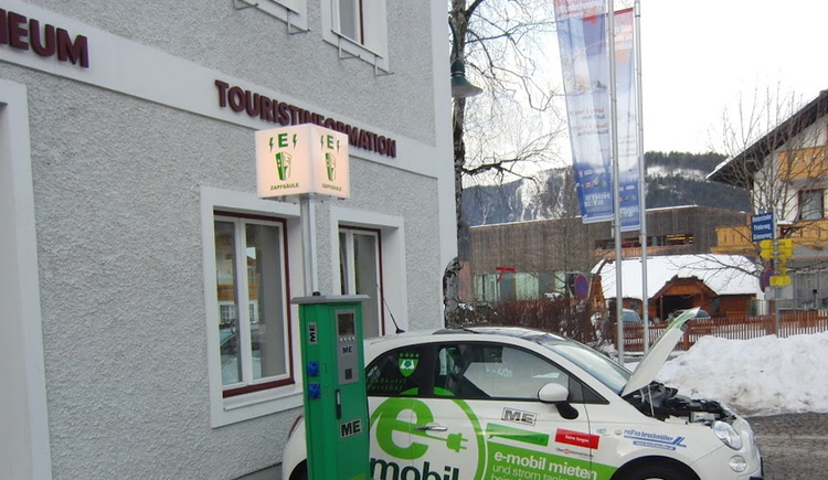 Stromtankstelle Hinterstoder (© Energieautarke Region Pyhrn-Priel)