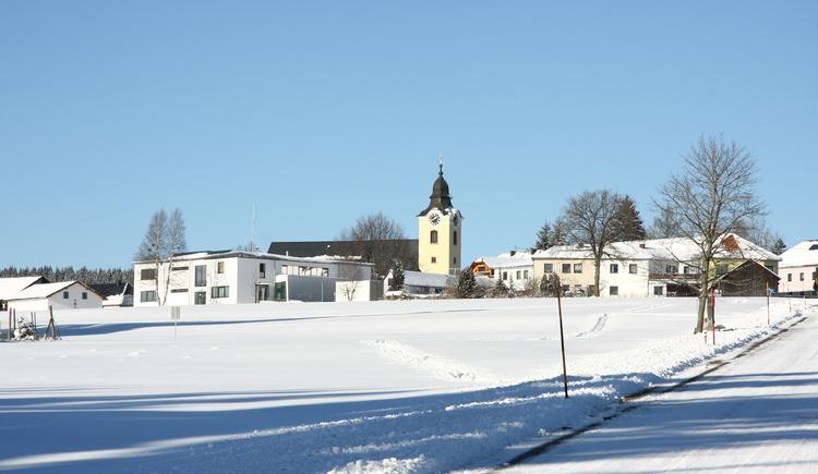 Ortsansicht (© Hießl Judith - Gemeinde Sandl)