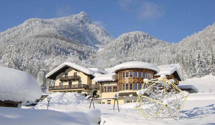 Gasthof Kleefeld im Winter. (© GH Kleefeld)