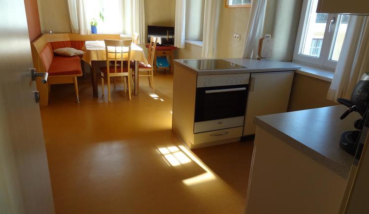 in der Wohnküche `Sonnenschein` ist Platz für alle (© Privat)