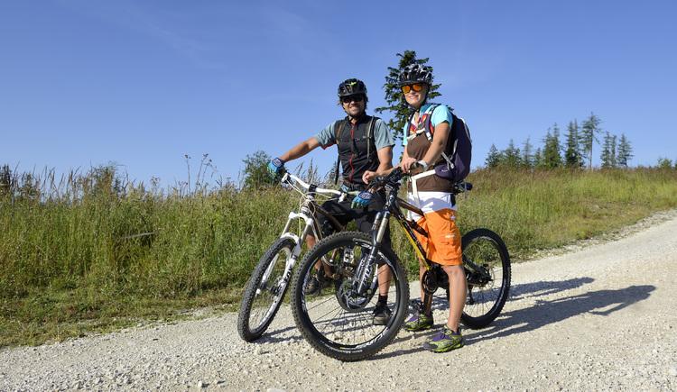 Mountainbiken (© Tourismusverband Traunsee-Almtal)
