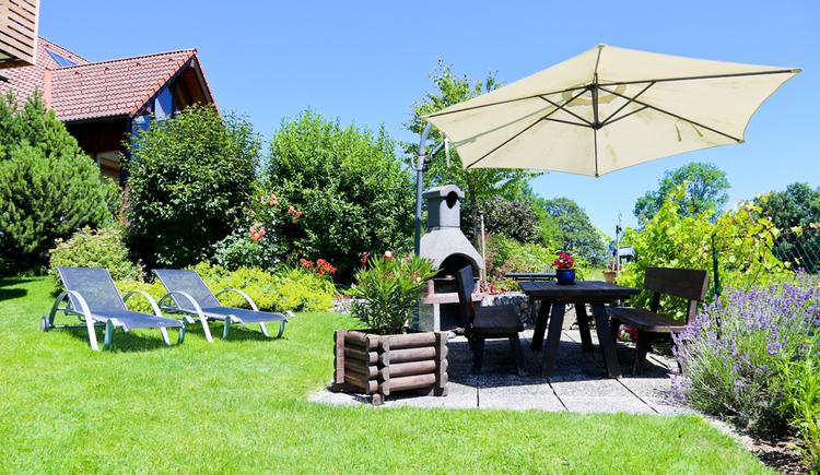 Garten (© Pension Reiter)