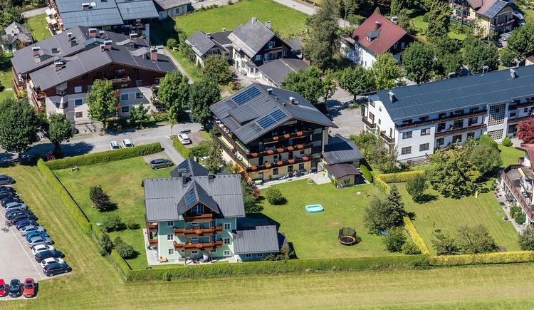 Appartementhaus Roland Luftaufnahme. (© SKYBLUE)