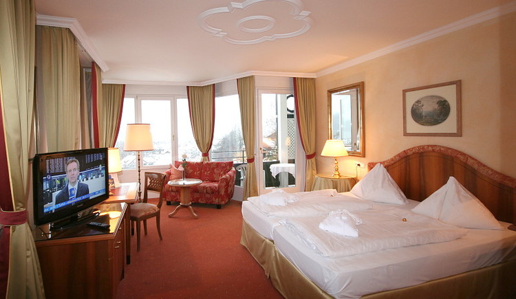 Junior Suite with View to the Lake in the Main House