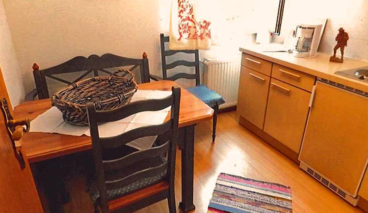 Küche vom Appartement 12
