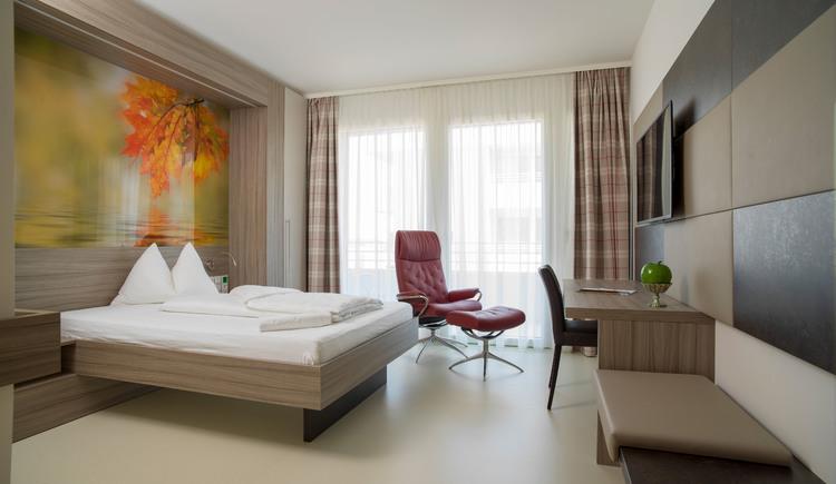Zimmer im Rehablitationszentrum am Kogl in St. Georgen im Attergau Salzkammergut.