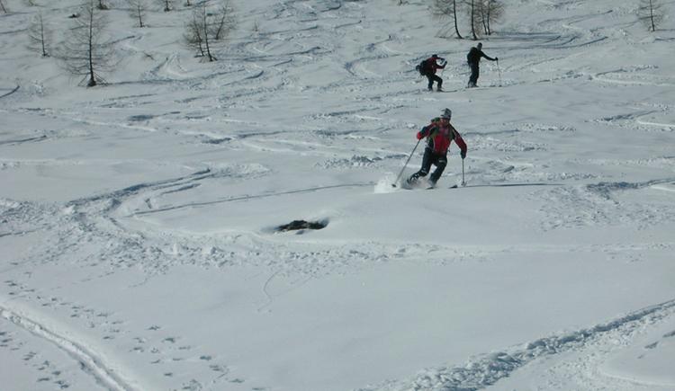 Skitour auf das Egelseehörndl. (© WTG)