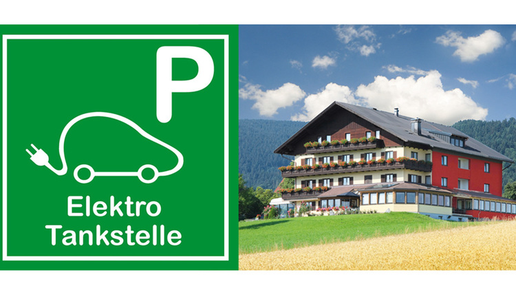 E Tankstelle im Hotel Haberl, Attersee am Attersee (© Familie Haberl)
