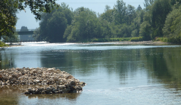 During the summer months you can enjoy a refreshing swim in the nearby river Traun
