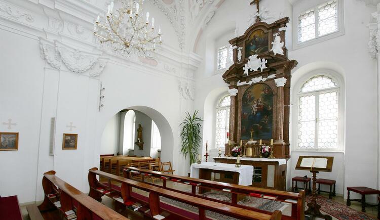 Kapelle (© Gästehaus Schloss Riedegg)
