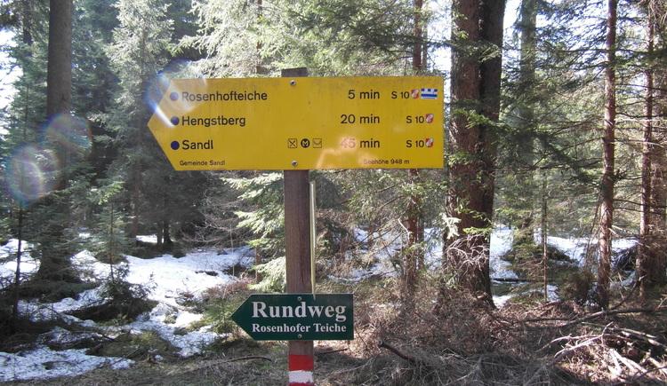 Rosenhoferteiche (© Gemeinde Sandl)