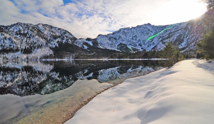 Winterwanderung am Offensee (© Tourismusbüro Ebensee, Spengler)