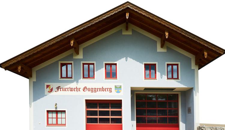 Blick auf das Feuerwehrhaus