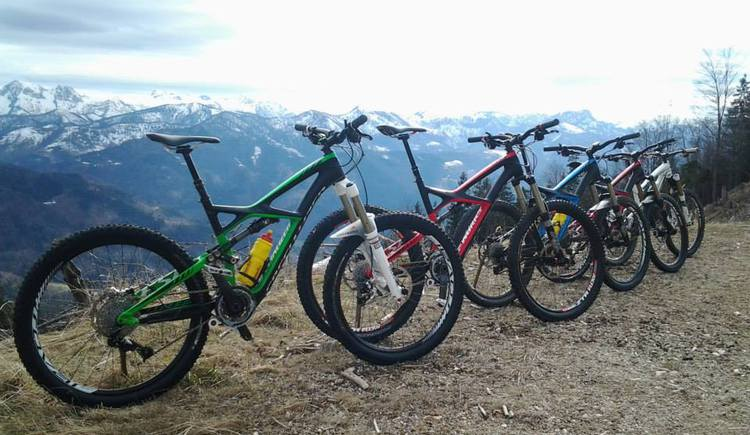 Mountainbikes von Traunsee Flow