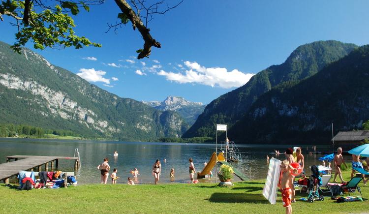 Das Strandbad in Untersee steht unseren Gästen während der Sommermonate kostenlos zur Verfügung. (© Torsten Kraft)
