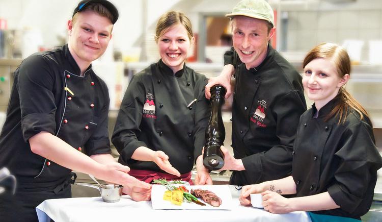 Küchenteam (© Hotel Mader)