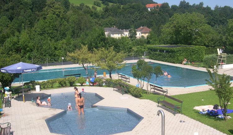 Freibad Ternberg. (© TV Nationalpark Region Ennstal)